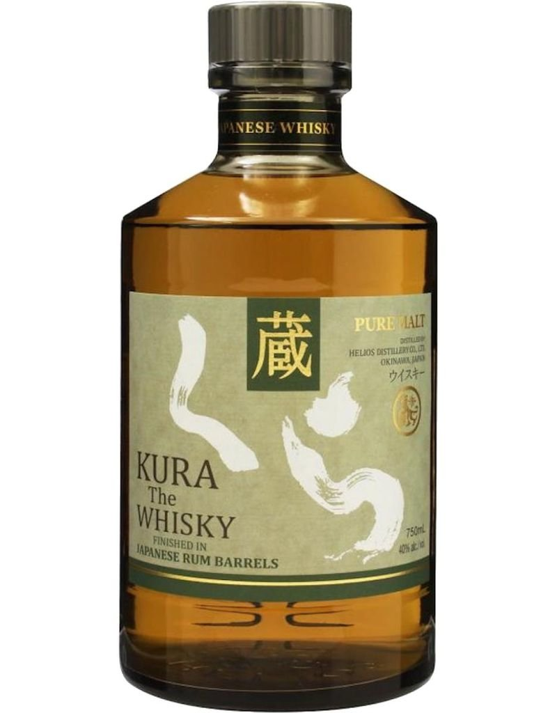 "Kura ""The Whisky"" Pure Malt Finished in Japanese Rum Barrels 750ml"