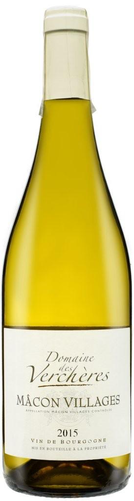 French Wine Domaine des Verchères Macon-Village 2016 750ml