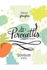 """French Wine Saveurs de Julien """"Les Vins Pirouettes"""" Vin d'Alsace 2016 750ml"""