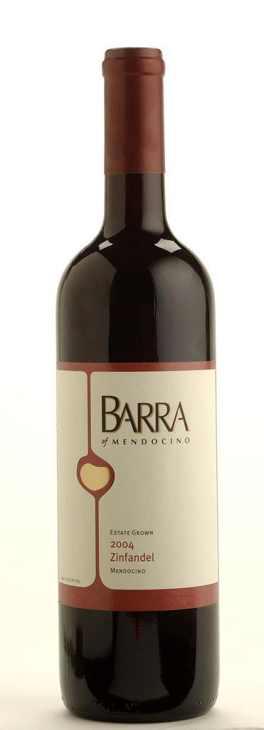 American Wine Barra of Zinfandel Estate Grown Zinfandel Mendocino 2016 750ml