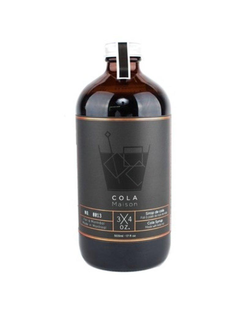 3/4 OZ. Cola Syrup 17oz