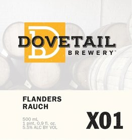 Beer Dovetail Brewery X01 Flanders Rauch 500ml