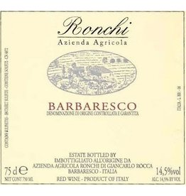 Italian Wine Az. Agr. Ronchi Barbaresco 2014 750ml
