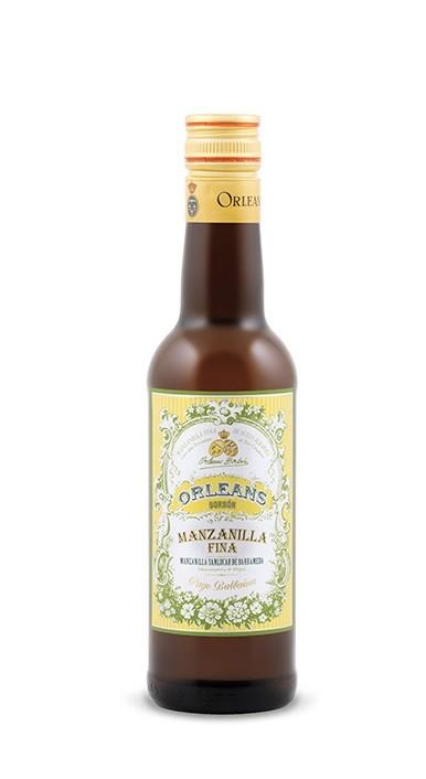 "Sherry Pago Balbaina ""Orleans Borbon"" Manzanilla Fina Sherry 375ml"