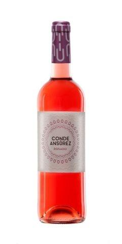 "Spanish Wine Bodegas Frutos Villar ""Conde Ansurez""Rosado Cigales 2017 750ml"