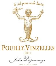 French Wine Jules Desjourneys Pouilly-Vinzelles 2015 750ml