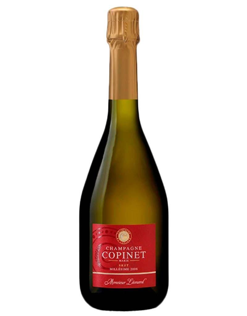 "Sparkling Wine Marie Copinet ""Monsieur Léonard"" Brut Milliesime 2006 750ml"