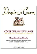 French Wine Domaine de Couron Cotes du Rhone Villages 2015 750ml