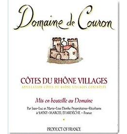 French Wine Domaine de Couron Cotes du Rhone Villages 2015 750ml