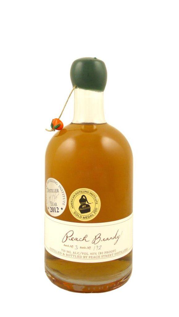 Brandy Peach Street Peach Brandy Batch No. 7 750ml