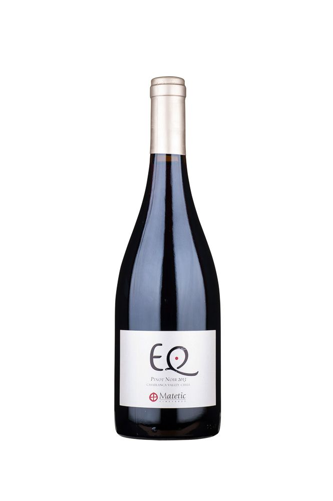 "South American Wine Matetic ""EQ"" Pinot Noir Casablanca Valley Chile 2013 750ml"