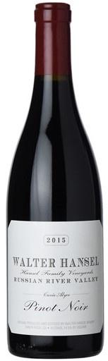 "American Wine Walter Hansel ""Cuvée Alyce"" Russian River Valley Pinot Noir 2015 750ml"