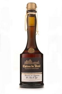 """Brandy Chateau de Breuil """"Reserve des Seigneurs"""" 20 Year Old Calvados 750ml"""
