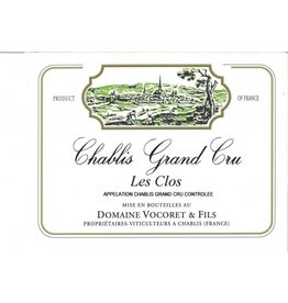 "French Wine Domaine Vocoret Grand Cru ""Le Clos"" 2014 750ml"