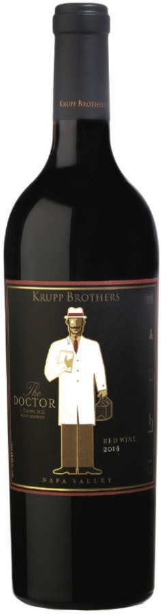 "American Wine Krupp Brothers ""The Doctor"" Stagecoach Vineyard Napa Valley 2014 750ml"