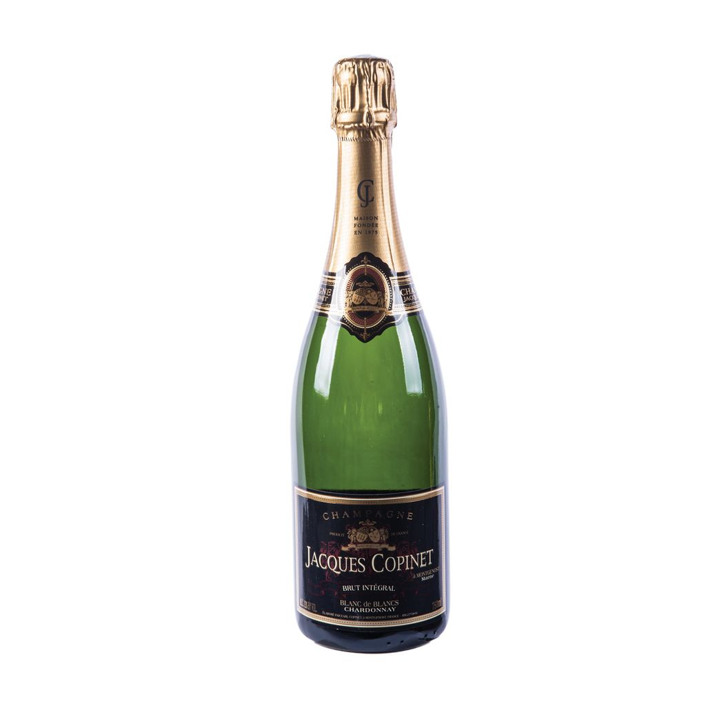 "Sparkling Wine Jacques Copinet ""Brut Intégral"" Blanc de Blanc Chardonnay NV 750ml"