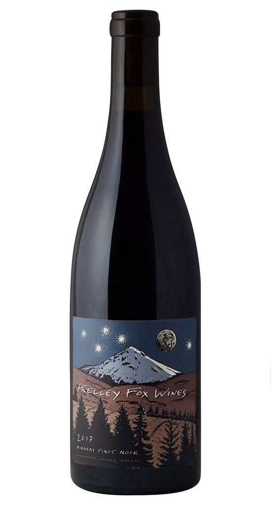 "American Wine Kelley Fox ""Mirabai"" Pinot Noir Willamette Valley 2017 750ml"