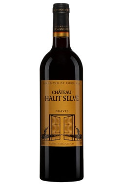 French Wine Chateau Haut Selve Grave Rouge 2015 750ml