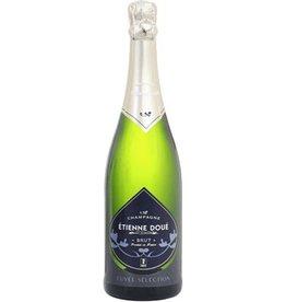 "Sparkling Wine Etienne Doué Champagne Brut ""Cuvée Selection"" NV 750ml"