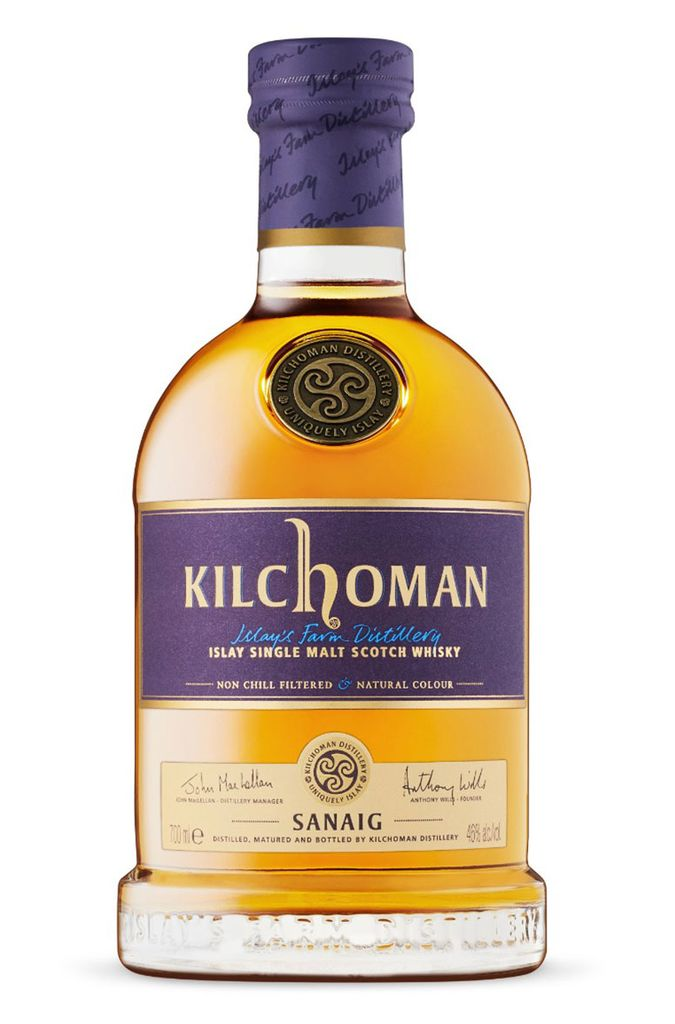 "Scotch Kilchoman ""Sanaig"" Islay Single Malt Scotch Whisky 750ml"