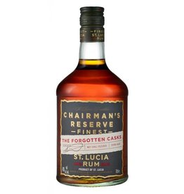 "Rum Chairman's Reserve ""The Forgotten Casks"" Rum Saint Lucia 750ml"