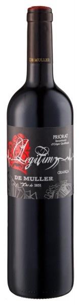 """Spanish Wine De Muller """"Legitim"""" Priorat Crianza 2015 750ml"""