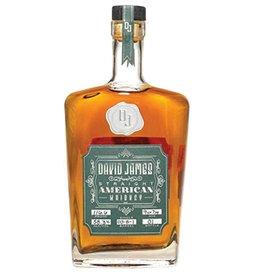 Whiskey David James Straight American Whiskey Batch 01 750ml
