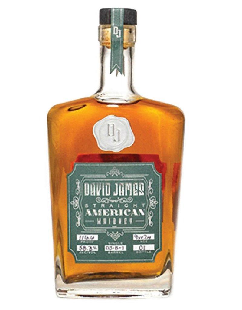 David James Straight American Whiskey Batch 01 750ml