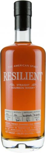 Bourbon Resilient Barrel #021 14 Year Straight Bournom Whisky Cask Strength 750ml