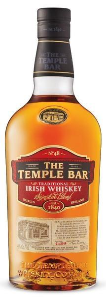"Irish Whiskey The Temple Bar ""Traditional"" Irish Whiskey 750ml"