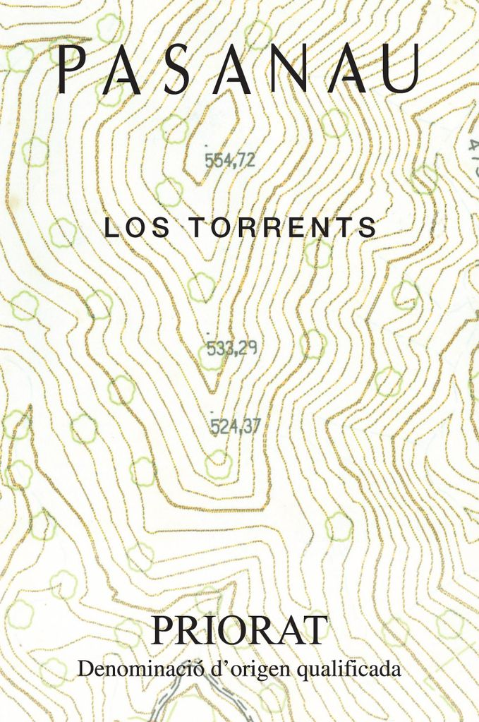 "Spanish Wine Pasanau ""Los Torrents"" Priorat 2014 750ml"
