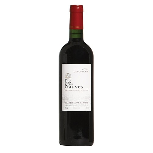 French Wine Duc des Nuaves Cotes de Bordeaux 2016 750ml