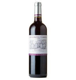 "French Wine George Vigouroux ""Les Comtes"" Cahors Malbec 2015 750ml"
