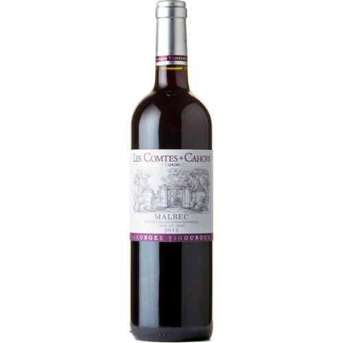 "French Wine George Vigouroux ""Les Comtes"" Cahors Malbec 2015 750ml"