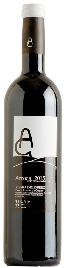 "Spanish Wine Arroçal ""Seis Meses en Barrica"" Ribera del Duero 2016 750ml"
