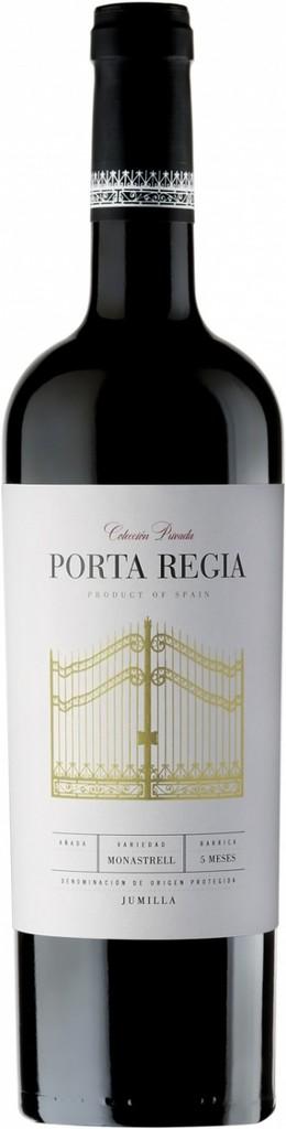 """Spanish Wine Porta Regia """"Coleccion rivada"""" Monastrell Jumilla 2015 750ml"""