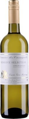 """French Wine Domaine des Cassagnoles """"Reserve Selection"""" Cuvée Gros Manseng Cotes de Gascogne 2016 750ml"""