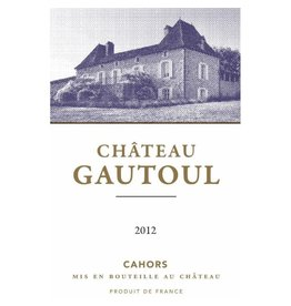 French Wine Chateau Gautoul Cahors 2012 750ml
