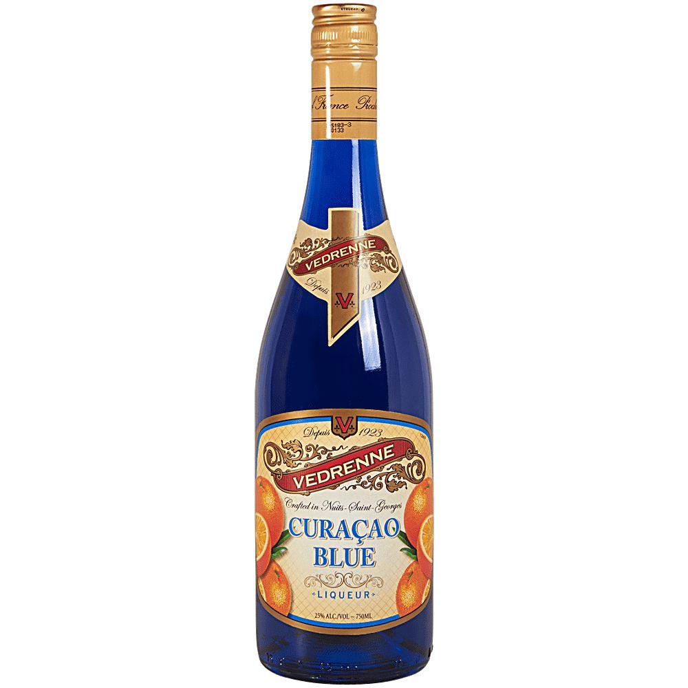Liqueur Vedrenne Curaçao Blue 750ml