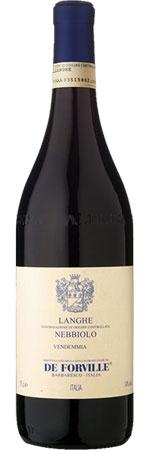 Italian Wine De Forville Langhe Nebbiolo 2017 750ml