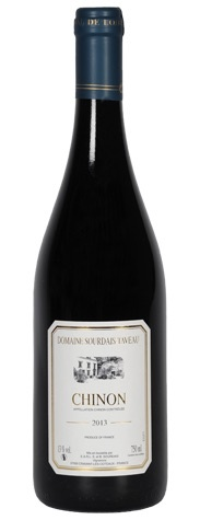 French Wine Domaine Sourdais-Taveau Chinon 2014