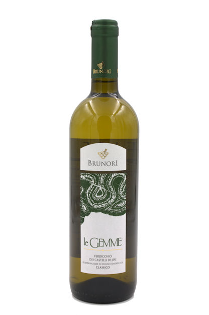 "Italian Wine Brunori ""Le Gemme"" Verdicchio dei Castelli di Jesi Classico 2017 750ml"