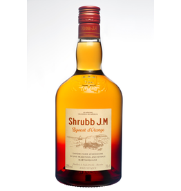 Liqueur Rhum J.M. Shrubb Liqueur d'Orange Martiniquaise 750ml