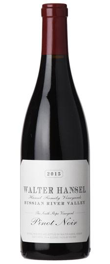 """American Wine Walter Hansel The North Slope"""" Russian River Valley Pinot Noir 2016 750ml"""