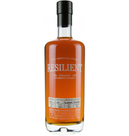 Bourbon Resilient Barrel #081 14 Year Straight Bourbon Whiskey Cask Strength 750ml