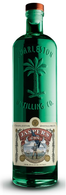 "Gin Charleston Distilling Co. ""Jasper's"" Gin 750ml"