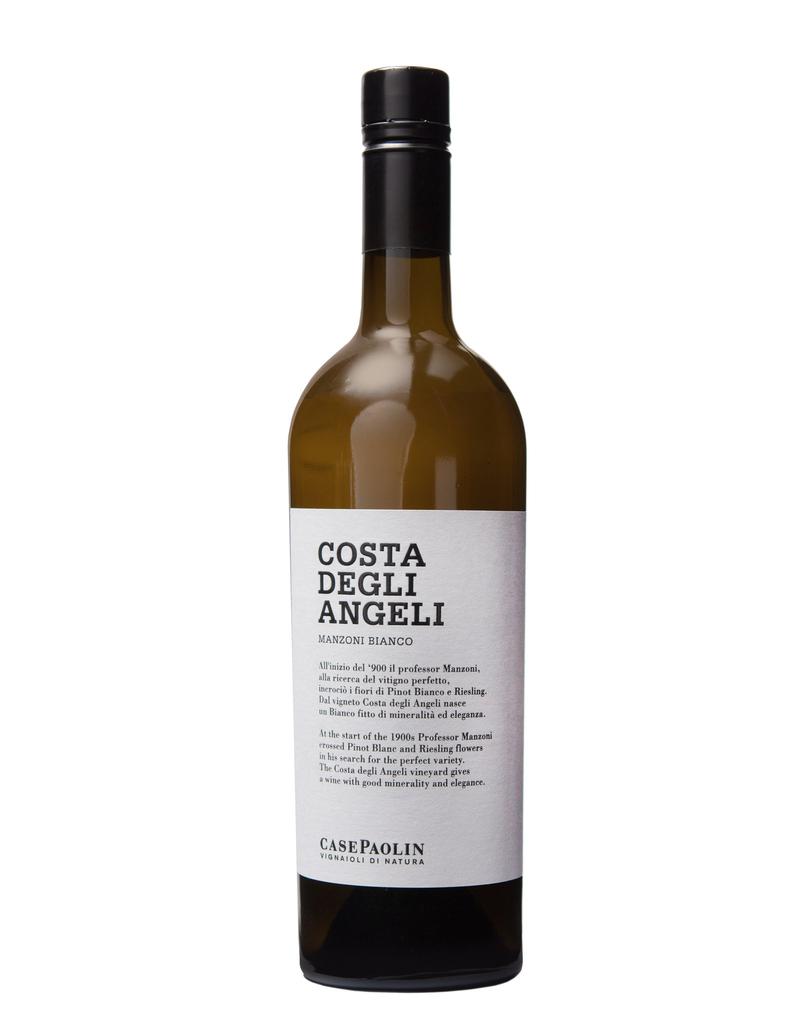 """Italian Wine Case Paolin """"Costa Degli Angeli"""" Veneto Manzoni Bianco 2015 750ml"""