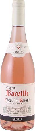 """French Wine Brotte """"Esprit Barville"""" Cotes du Rhone Rosé 2017 750ml"""