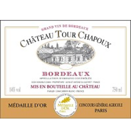 French Wine Chateau Tour Chapoux Bordeaux 2016 750ml