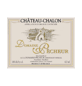 French Wine Domaine Pêcheur Château-Chalon 2008 620ml